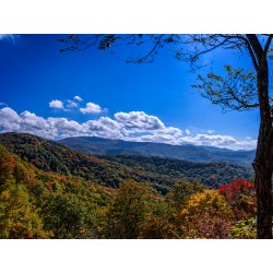 NC Fall Mountains