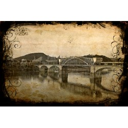Nooga Bridge with Antique...