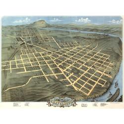 Chattanooga Map 1871