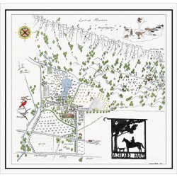 Ashland Farms Map Drawing